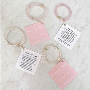 Other - Mommy and Mini Natural Stone Bracelet Set